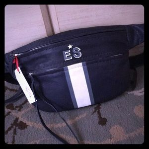 NOT RATIONAL Leather Fanny Pack